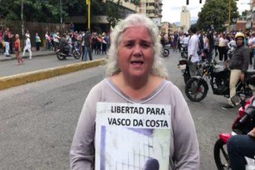 """¡CRUELES! Al preso político Vasco Da Costa le negaron la atención en el Hospital Militar """"porque no es chavista"""", denuncia su hermana"""
