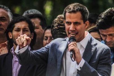 ¡URGENTE! Juan Guaidó fue detenido por comando del Sebin en la autopista Caracas-La Guaira