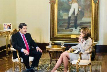 ¡TE LA CONTAMOS! La razón por la que Maduro buscó ser entrevistado por María Elvira Salazar (+Video)