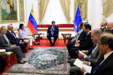 ¡POR LO BAJITO! La propuesta que hizo Maduro a los miembros de la Unión Europea en reunión este #19Ene