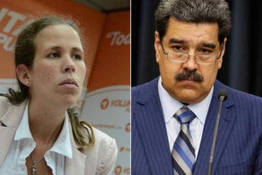 ¡CONTUNDENTE! Manuela Bolívar: El #10E no hay presidente porque no hubo candidato. Maduro es un usurpador