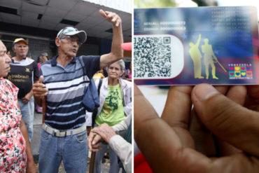 ¡NO ALCANZA PARA NADA! Régimen de Maduro aumentó el monto del bono de guerra económica para los pensionados (+así quedó establecido)
