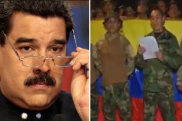"""¡AGÁRRATE, NICO! Militares venezolanos en Colombia y Perú se encuentran en una """"avanzada"""" a la frontera venezolana (+Video)"""