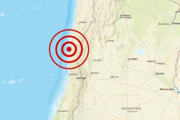 ¡LO ÚLTIMO! Fuerte sismo de magnitud 6,7 se registró en la costa central de Chile este #19Ene (+Videos)