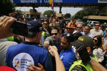 ¡VÉALAS! Las imágenes de la visita del senador Marco Rubio a la frontera colombo-venezolana (+Diputados venezolanos lo acompañaron)