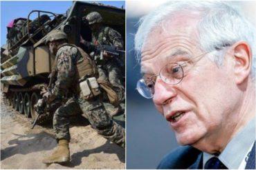 ¡SE LO CONTAMOS! Lo que dice Josep Borrell sobre una intervención militar en Venezuela