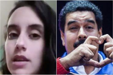 ¡SIN PALABRAS! Chavista dice que la única ayuda humanitaria que han solicitado los venezolanos es la que da el régimen con los CLAP (+Video)