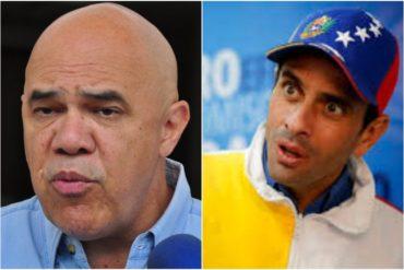 """¡QUÉ FUERTE! Jesús """"Chuo"""" Torrealba le lanza a Capriles y tuiteros no lo perdonaron: Perdió la oportunidad de quedarse callado"""