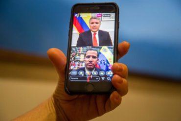¡SOLIDARIO! Duque pone a disposición de Guaidó otras ciudades colombianas para hacer llegar la ayuda humanitaria (+Video)