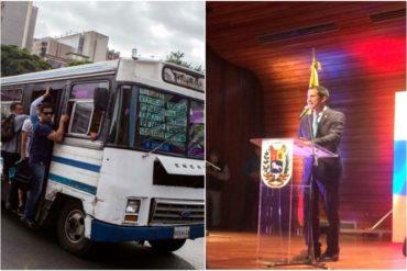 ¡PURA NOBLEZA! La oferta que hizo el sector transporte a Guaidó a favor de la ayuda humanitaria (+Video)