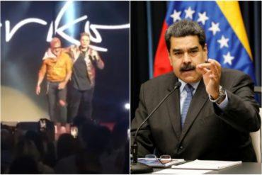 """¡CON FUERZA! El sonoro """"Maduro, c*ño de tu madre"""" que pronunció el influencer italiano Gianluca Vacchi en evento con Marko Music (+Video)"""
