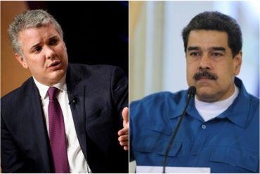 ¡LO DIJO CLARITO! Iván Duque a Maduro: Sus días como presidente han terminado, él ya no ostenta ese poder (+Video)
