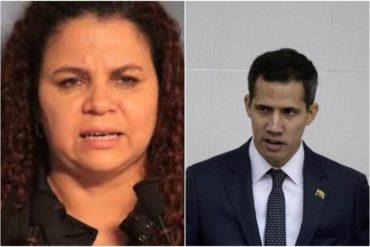 """¡AH, OK! """"A este mamarracho le queda mejor cerrar la jeta"""": El soez mensaje de Iris Varela contra Guaidó por poner en duda cifras de coronavirus en el país"""