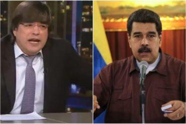 ¡MI MADRE! La palabrota de Jaime Bayly para referirse a Maduro (+Mensaje a los jóvenes venezolanos) (+Video)