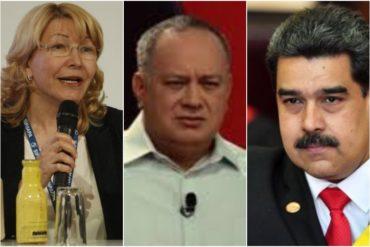 """¡SE HUNDE EL BARCO! Ortega Díaz sobre relación entre Maduro y Cabello: """"Esos se están matando. Saben que si uno le pasa algo el otro cae"""""""