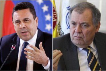 ¡SIN DESPERDICIO! La malcriada reacción de Moncada mientras embajador de Colombia en la OEA hablaba en contra del régimen (+Video)