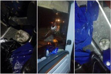 ¡LO ÚLTIMO! Atacan caravana de diputados en la madrugada de este #22Feb (2 conductores fueron heridos)