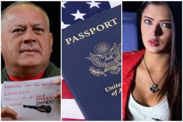"""¡IMPERIALISTA LA MUCHACHA! El Daily Mail dice que Daniella Cabello abandonó el país usando un pasaporte """"gringo"""""""