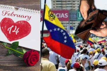¡A EXPLOTAR LA CREATIVIDAD! Las 3 opciones que tienen los venezolanos para celebrar el día del amor y la amistad en medio de la crisis