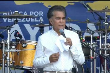 """¡VÉALO! """"Yo regresaré"""": el emotivo mensaje de El Puma a Venezuela durante su homenaje en los Latin American Music Awards (+Video)"""