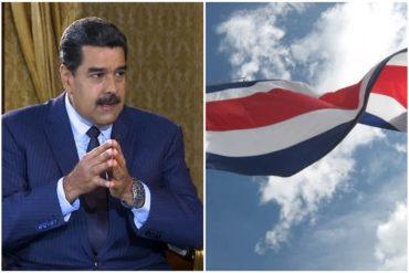 ¡LO ÚLTIMO! Costa Rica deplora decisión del régimen de Maduro de retirar credenciales a su encargado de negocios