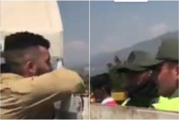 """¡LES HABLÓ CLARO! Supuesto marine de los EEUU a la FANB en la frontera: """"Pónganse del lado del pueblo"""" (+Video)"""