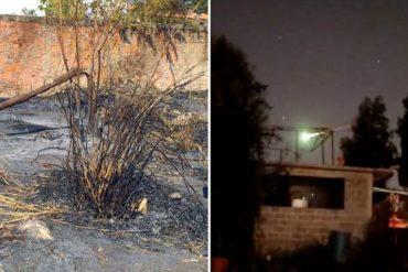 """¡SE LO MOSTRAMOS! Así quedó el lugar donde impactó el supuesto """"meteorito"""" observado en Valencia (+Fotos)"""