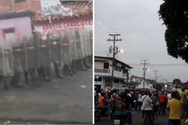 """¡ATENCIÓN! Reportan disturbios en Ureña tras cierre """"temporal"""" de la frontera (+Fotos + Videos)"""