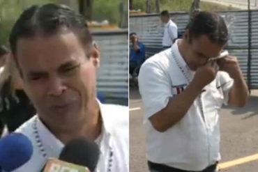 """¡DESGARRADOR! El desgarrador relato de un voluntario en Cúcuta: """"Estoy aquí porque mi esposa va a morir"""" (+Video)"""