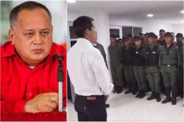 """¡Y SIGUE! Diosdado asegura que a militares disidentes """"los engañaron"""": Les ofrecieron 300.000 pesos y solo les dieron una colchoneta y un mapa"""