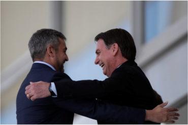 ¡COMPROMETIDOS! Presidentes de Brasil y Paraguay se reúnen y afirman que están unidos por la libertad de Venezuela