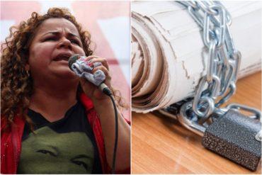 """¡CENSURA! Varela prohíbe a periodistas tomar fotos en cárcel de Uribana (prensa denuncia que fue """"retratada"""" por un funcionario de gobierno +Foto +Video)"""