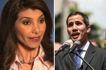 """¡LE CONTAMOS! Patricia Janiot se picó y mostró pruebas de que ella sí llama """"presidente interino"""" a Guaidó (+Video)"""