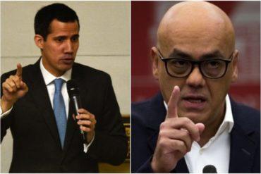 """¡DE FRENTE! Así respondió Guaidó a las """"fake news"""" de Rodríguez: No pueden ocultar que amparan y financian narcoterroristas como Santrich y Márquez"""