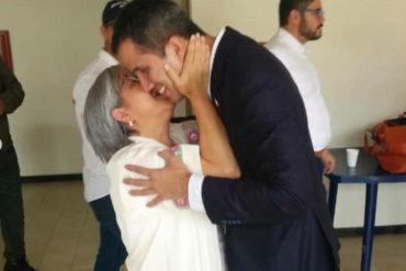 """¡EMOTIVO! El conmovedor mensaje de la madre de Guaidó: Hijo, """"te amo con mi alma y mi vida"""""""