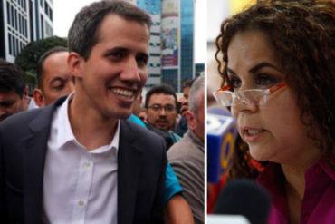 ¡EN SU CARA! Iris Varela fue otra que terminó burlada con el retorno de Guaidó al país sin inconvenientes (Lo amenazó con cárcel)