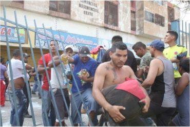 ¡CACERÍA! Faes busca a involucrados en saqueos en Maracaibo (+Videos)