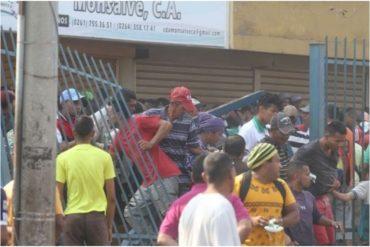 ¡LAMENTABLE! Casi todos los comercios de Maracaibo permanecen cerrados por saqueos durante el apagón (+Video)