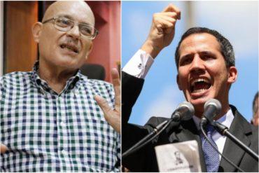 """¡SE LE FUERON LOS TAPONES! Lo que dijo este chavista para descalificar a Guaidó: """"Es un invento. Tú le ves por debajo y no tiene nada chico"""" (+Video)"""