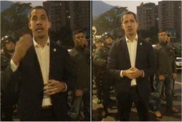 ¡URGENTE! Guaidó anuncia respaldo de la FAN y llama a la calle: «Pueblo de Caracas, todos a la Carlota» (+Video)