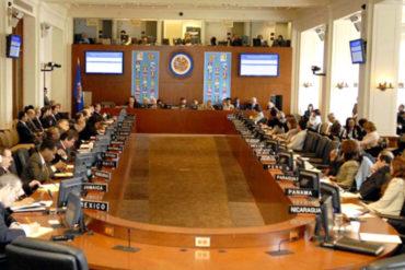 ¡PENDIENTES! Consejo Permanente de la OEA se reunirá de forma extraordinaria el 10-Ene para analizar hechos recientes en Venezuela