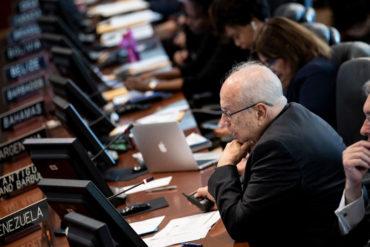 ¡IMPORTANTE! Grupo de Lima buscará legitimar a Gustavo Tarre como representante de Venezuela ante la OEA