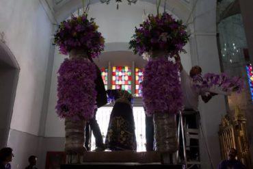 ¡CON FE! Así se preparan en Caracas para venerar a El Nazareno de San Pablo este miércoles santo (+Fotos)