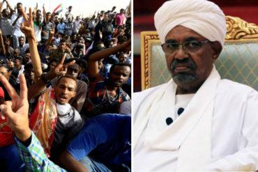 ¡LO ÚLTIMO! Dimite Omar al Bashir, presidente de Sudán, después de 30 años en el poder: Ciudadanos habrían tomado sedes del Gobierno