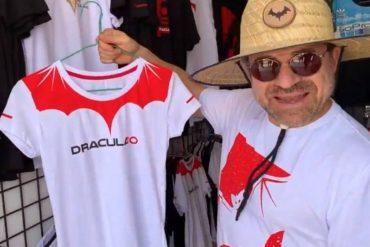 """¡NO SE LO PIERDA! La ridícula ropa que intentó vender Lacava en su """"Dracufest"""" (+Cacheteros «pa'l twerking») (+Video)"""