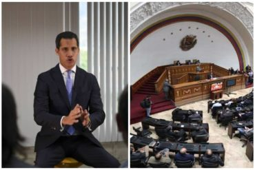"""¡NO PIERDE TIEMPO! Guaidó alertó a comunidad internacional de las intenciones de """"cerrar"""" la AN: """"No podrán frenar lo inevitable"""""""