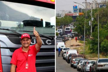 """¡CARA 'E TABLAS! Pdvsa tilda de """"Fake News"""" la escasez de gasolina pese a las kilométricas colas registradas en todo el país"""