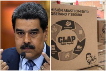 ¡SEPA! Acorralado por las sanciones ahora Maduro propone producir el CLAP en Venezuela