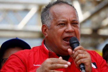 """¿CÓMO ES LA COSA? Diosdado amenaza: """"Los que se coman la luz el 16 de noviembre, van derechito en Ramo Verde"""""""