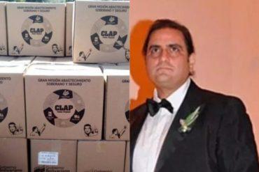 ¡ESCÁNDALO! Imputan en Colombia a Alex Saab por su vínculo con escándalo de las cajas CLAP